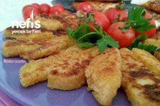 Çıtır Hellim Peynir Pane Tarifi