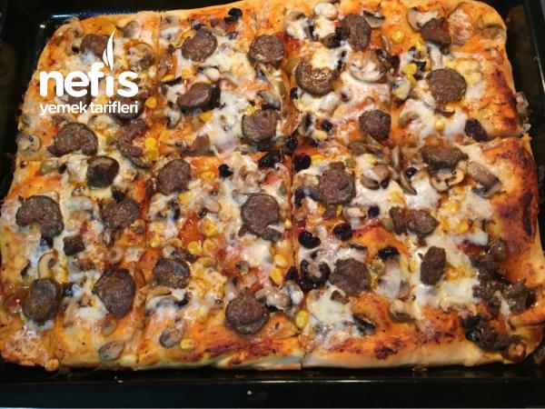 Karışık Tepsi Pizzam