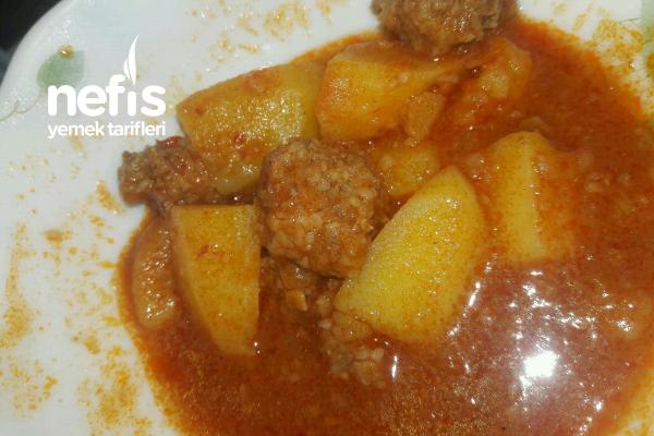 Patates Sulusu Köfteli Tarifi