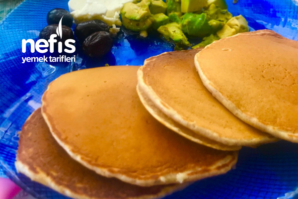 Tam Buğday Unlu Pancake Tarifi