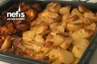 Fırında Patates Tavuk Yemeği Tarifi
