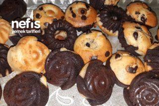 İki Renkli Muffin Tarifi