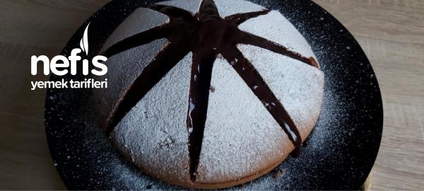 yanardağ pastası Fırın Gerektirmeyen 5 Dakikada Hazır pasta ( videolu)
