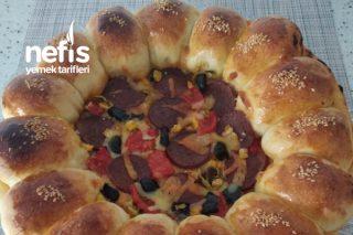 Çiçek Pizza Tarifi