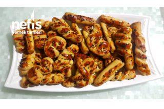 Kıyır Kıyır Pastane Kurabiyeleri (Pekmezli) Tarifi