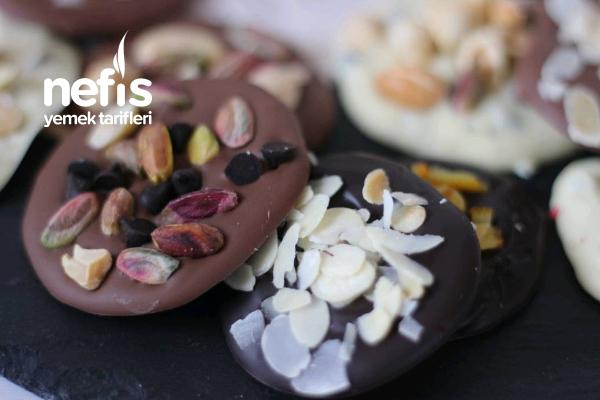 Kuru Yemişli Çikolata Yapımı Tarifi