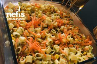 Dereotlu Makarna Salatası (Günlerin Vazgeçilmezi) Tarifi