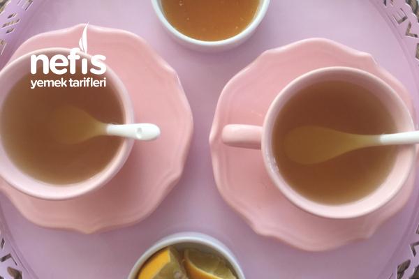 Mis Gibi Ihlamurlu Portakal Çayı (Kış Çayı) Tarifi