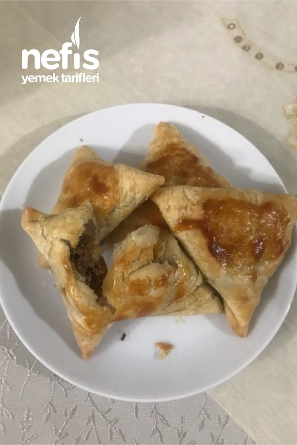 Kıymalı Samsa Böreği (Orta Asya'nın Meşhur Böreği)