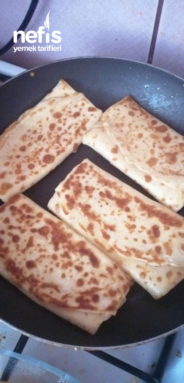 Krep Börek (Kahvaltı İçin, Yumuşacık )