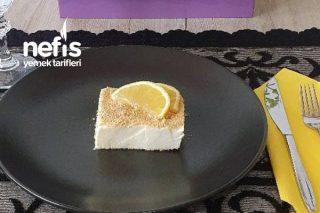 Limonlu Parfe ( Krema Kullanıldı ) Hafif Bir Yaz Tatlısı Tarifi