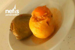Zeytinyağlı Biber-Patates Dolma Tarifi