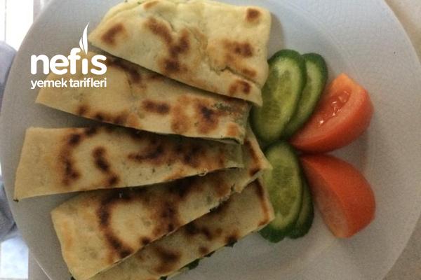 Ispanaklı Ve Peynirli Anne Gözlemesi Tarifi