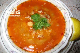 Kıymalı Nohutlu Pirinç Çorbası Tarifi