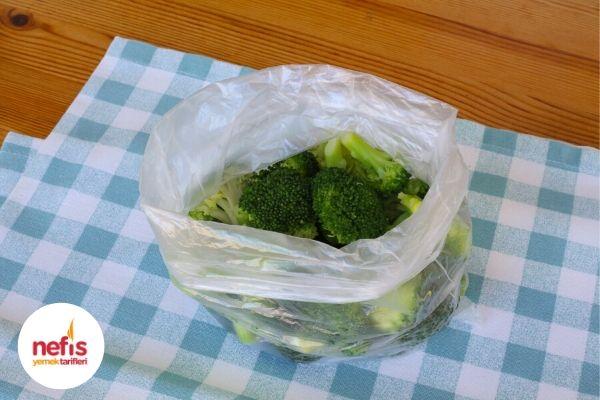 brokoli saklama