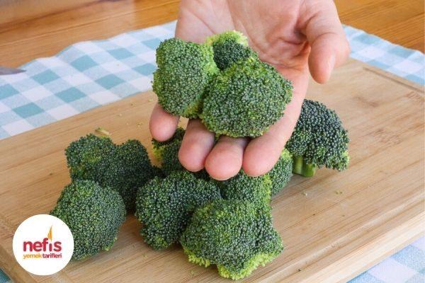 Videolu Resimli: Brokoli Nasıl Temizlenir, Saklanır? Tarifi