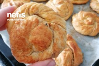 Açma Peynirli Poğaça Tahinli Çörek (Aynı Hamurdan) Tarifi