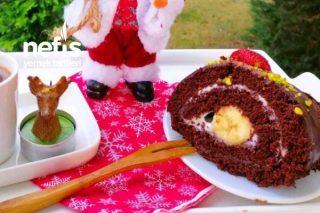 Çikolatalı Rulo Pasta (Asla Kırılmayan Sünger Gibi) Tarifi