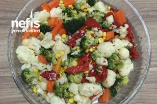 Brokoli – Karnabahar Salatası Tarifi