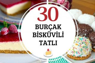 Burçak Bisküvili Tatlılar En Pratik 30 Tarif Tarifi