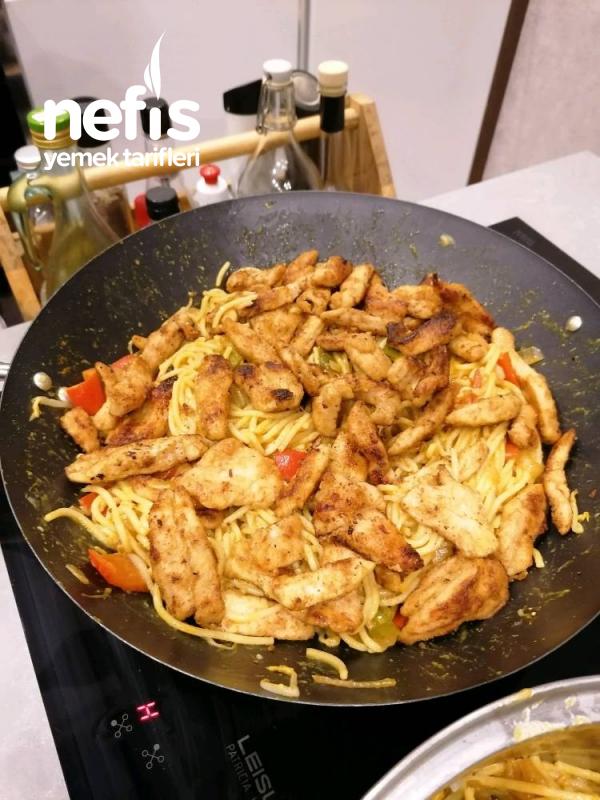 Çin Usulü Çıtır Tavuk