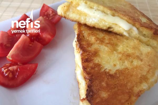 Kaşarlı Yumurtalı Tost (Fransız Tostu) Tarifi