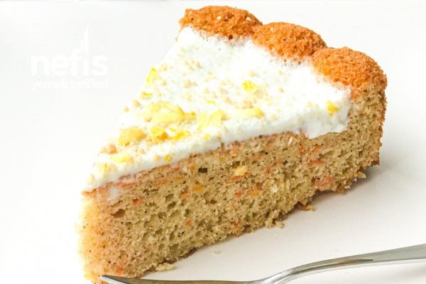 Kremalı Havuçlu Tarçınlı Kek Tarifi