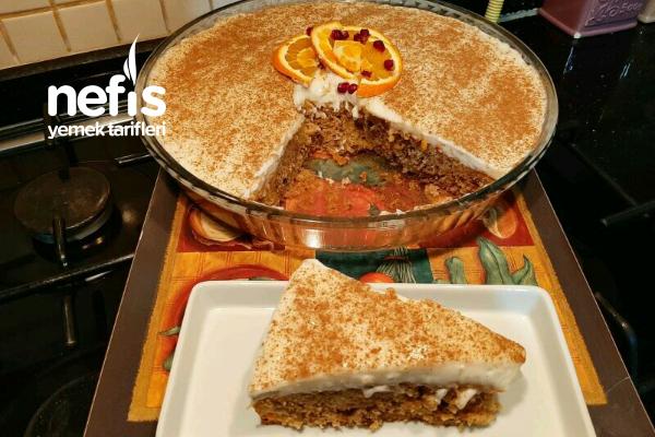 Kremalı Kış Keki (Portakal,Havuç,Tarçın Ve Cevizli)