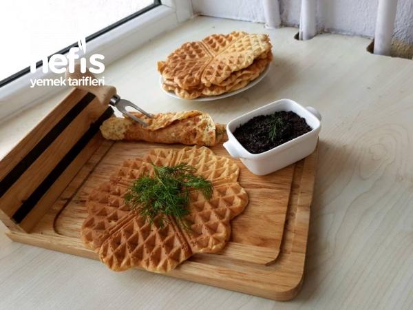 Türk Usülü Tuzlu Waffle