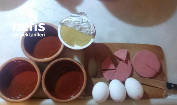 Fırında Hafif Ve Pratik Yumurtalı Burger