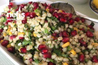 Narlı Buğday Salatası Tarifi