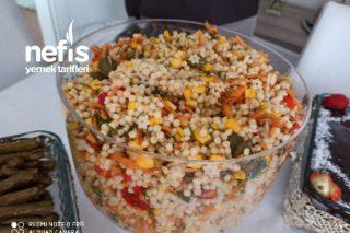 Ton Balıklı Kuskus Salatası Tarifi