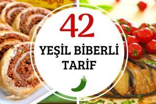 Yeşil Biberli 42 Çeşit Efsane Tarif Tarifi