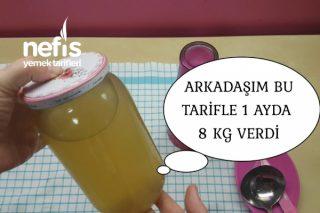 1 Ayda 8 Kg Verdiren Bitki Çayı Tarifi (Videolu)