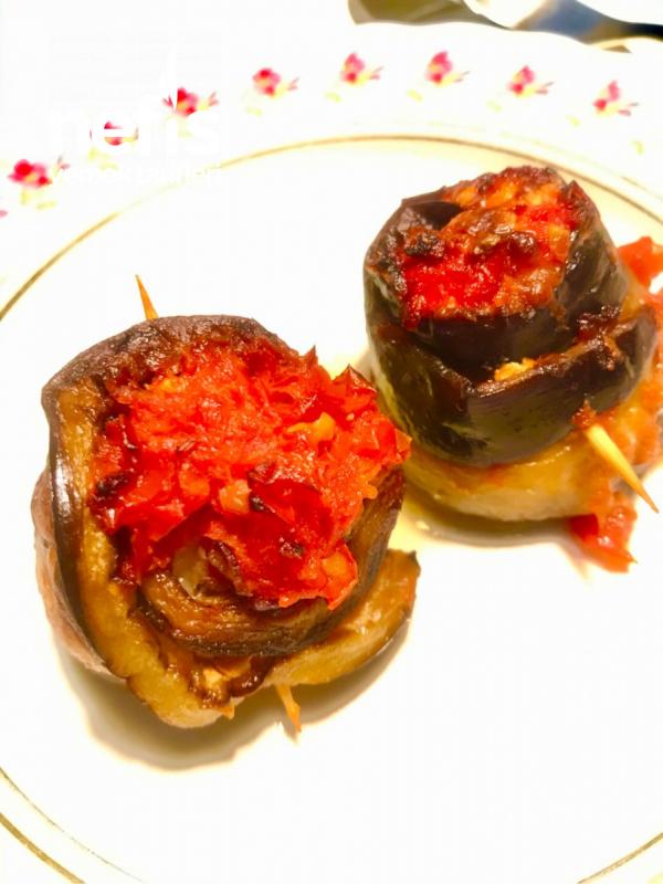 Patlıcan Sarma (Melanzane)