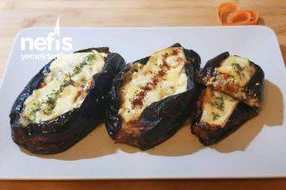 Peynirli Patlıcan Dolması Tarifi