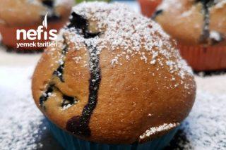 Yumuşacık Yaban Mersinli Muffin Tarifi