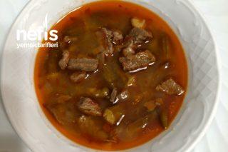 Kuru Bamya Yemeği (Uşak Usulü) Tarifi
