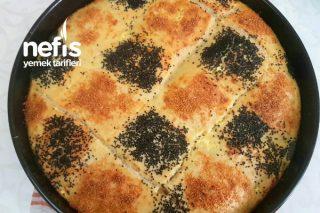 Sadece Un Ve Suyu Karıştır Çayın Yanına Sıcacık Çörek (Videolu) Tarifi