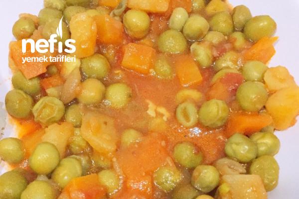 Havuçlu Patatesli Bezelye Yemeği (Muhteşem Lezzet) Tarifi