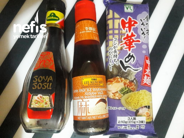 Japon Mutfağından Tavuklu Ramen