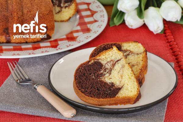 Kakaolu-Sade Kalıpta Kek