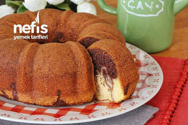Kakaolu-Sade Kalıpta Kek (videolu)