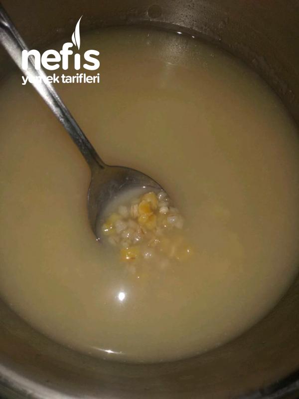 Mısırlı Yarmalı Yoğurt Çorbası Nefis