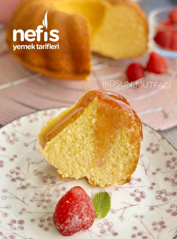 Muhteşem Dokusuyla Sıcak Sütlü Kek