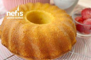 Muhteşem Dokusuyla Sıcak Sütlü Kek Tarifi