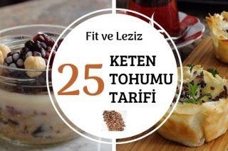 Keten Tohumu ile 25 Besleyici Tarif Tarifi