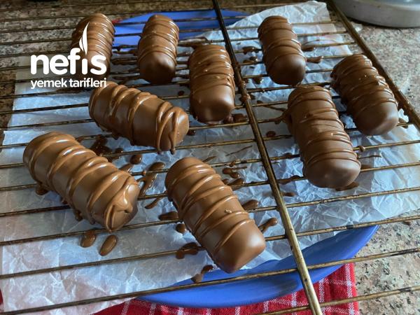Nefis Çikolata Kaplı Kestane Şekeri Yapımı