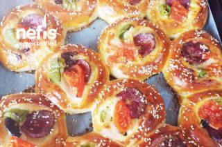 Pamuk Gibi Pizza Poğaça Tarifi