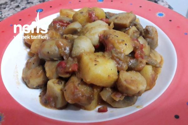 Patatesli Mantar Yemeği Tarifi
